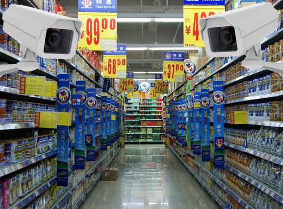 小型連鎖商超高清視頻監控工程解決方案
